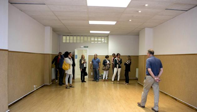 Varios concejales del Ayuntamiento de Pamplona visitan las instalaciones