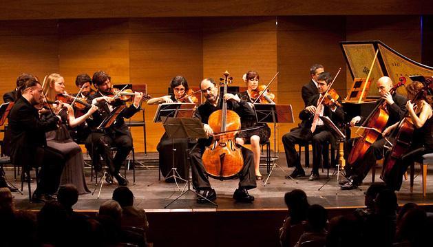 Orquesta barroca de Sevilla.
