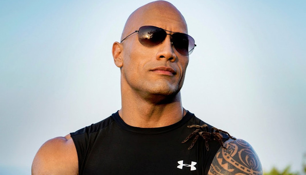 Dwayne Johnson, The Rock.