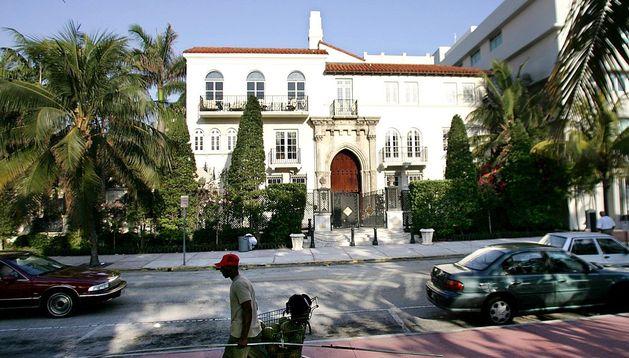 Mansión de la casa de Versace, en Miami.