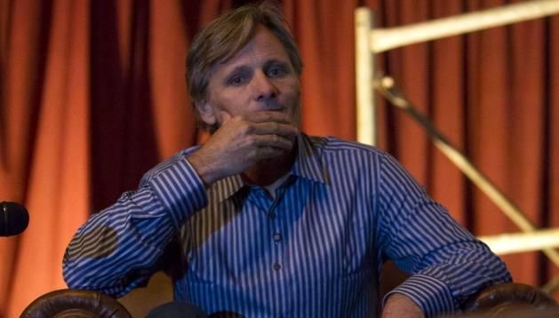 Viggo Mortensen durante la presentación de