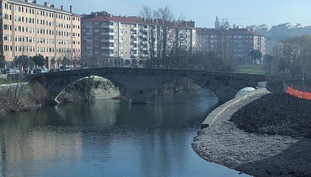 Puente de Santa Engracia en Pamplona.