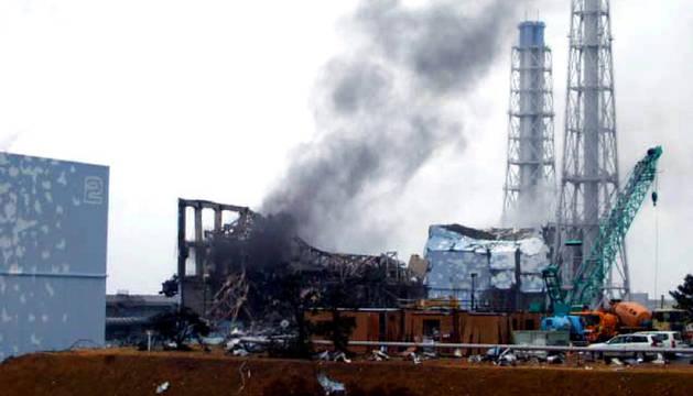 Uno de los reactores de la central nuclear de Fukushima