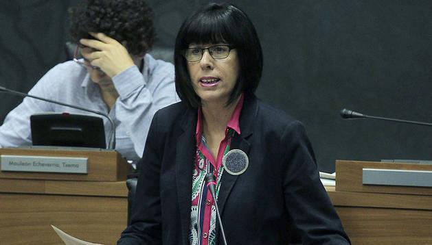 La parlamentaria del PSN Maite Esporrín.