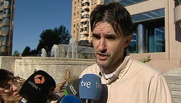 El periodista, Carlos Ribagorda.
