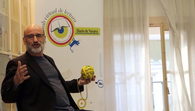 Escritores que pasaron  por el Club de Lectura de Diario de Navarra en 2013