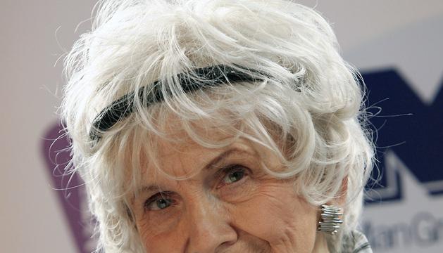 Alice Munro, en una imagen de 2009 tomada en Dublín.
