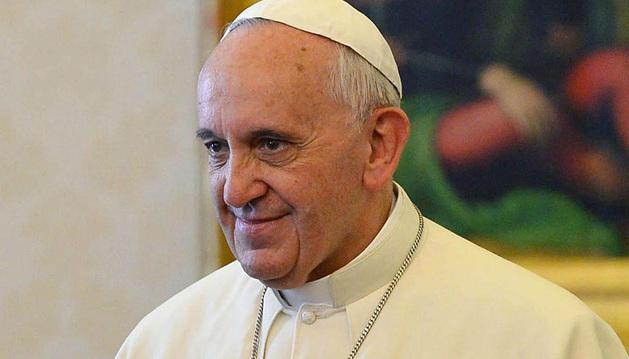 El papa Francisco, en una recepción en el Vaticano.