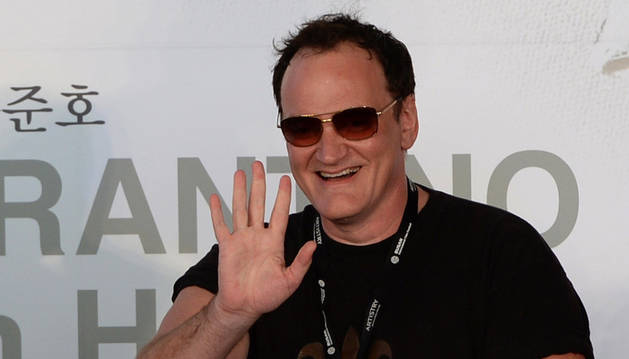 Quentin Tarantino en el 18 Busan International Film Festival en 2013