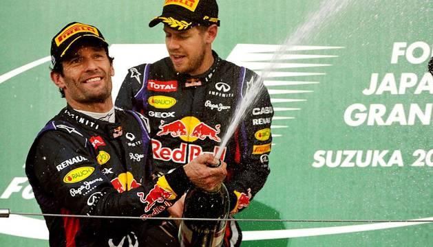 Imágenes del Gran Premio de F1 de Japón 2013, disputado en el circuito de Suzuka y con victoria final del alemán de Red Bull Sebastian Vettel.
