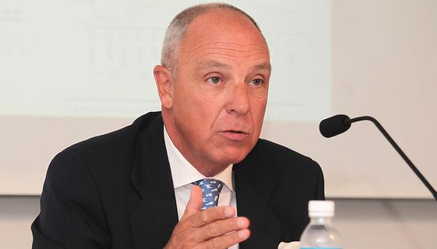 Javier Taberna, presidente de la Cámara de Comercio, en una imagen de archivo