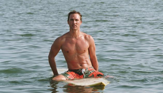 Matthew McConaughey pidió consejo a Tom Hanks para perder peso