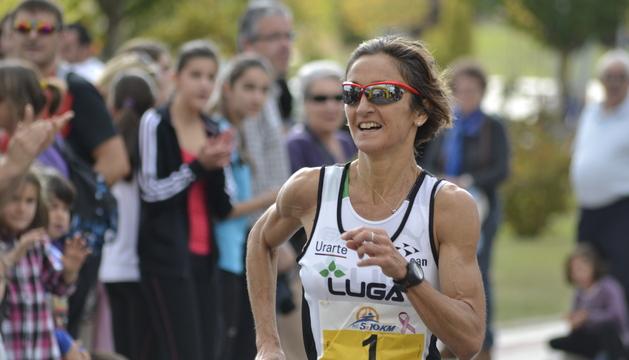 Ana Casares, en la recta de meta