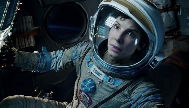 Sandra Bullock en una escena de 'Gravity', de Alfonso Cuarón