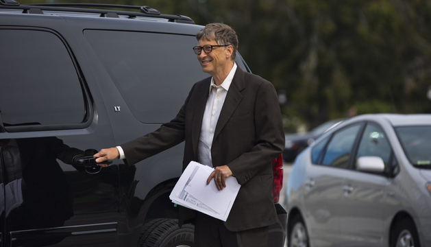 El magnate y filántropo estadounidense Bill Gates