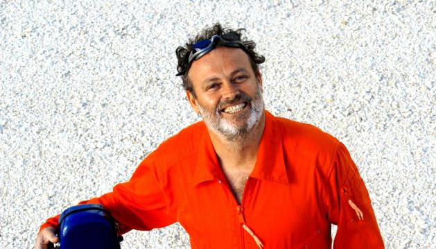 El artista Pablo Carbonell