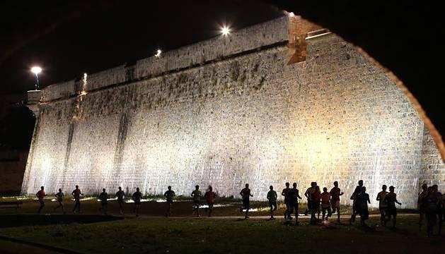 Este viernes se ha disputado en Pamplona la Carrera de la Murallas