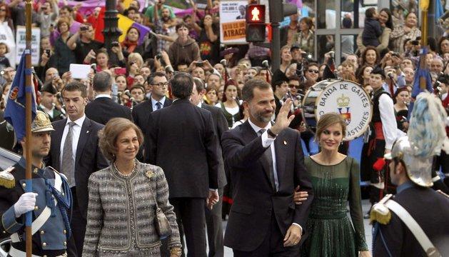La Reina Sofía, este viernes