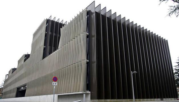 Edificio del Complejo Hospitalario de Navarra donde se encuentra Navarrabiomed.