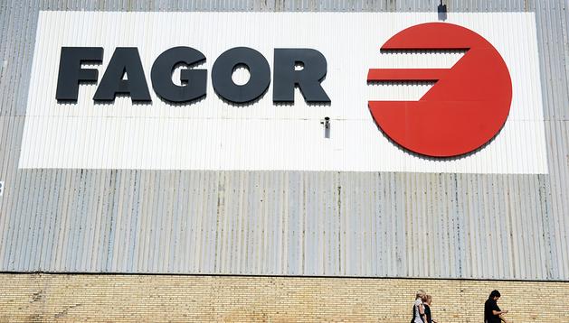 Imagen de la planta de Fagor en Arrasate