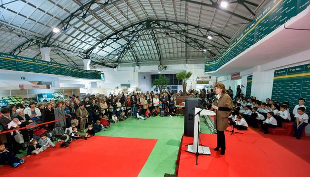 Inaugurado en Pamplona el Rastrillo de Nuevo Futuro