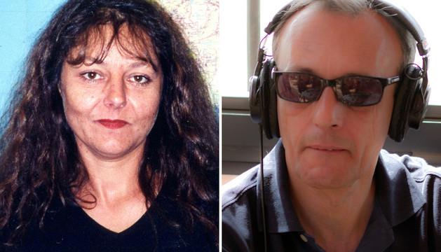 Los periodistas secuestrados, Ghislaine Dupont y Claude Verlon.