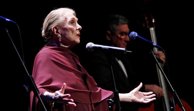 La cantante María Dolores Pradera.