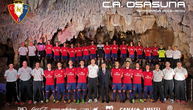 Póster oficial de la temporada 2013-14