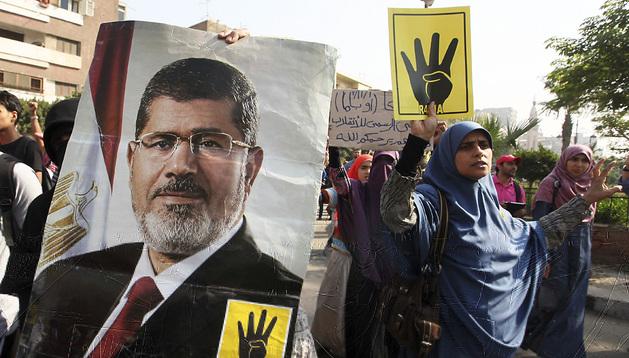 Simpatizantes de Mursi protestan por el juicio