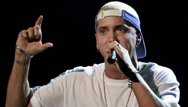 El rapero Eminem.