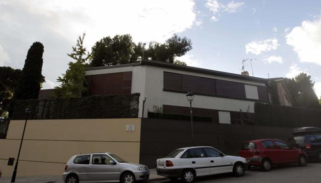 la fachada de la casa de los duques de Palma en el barrio barcelonés de Pedralbes