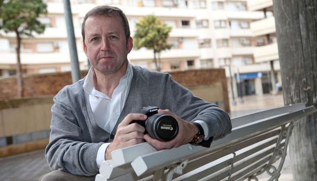 Carlos Aurensanz, ganador del reto del concurso 'Fototuitribera'