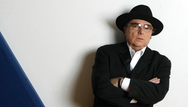 El cantante Van Morrison.