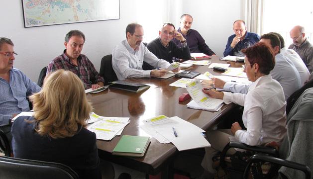 Los presentes en la constitución del observatorio.