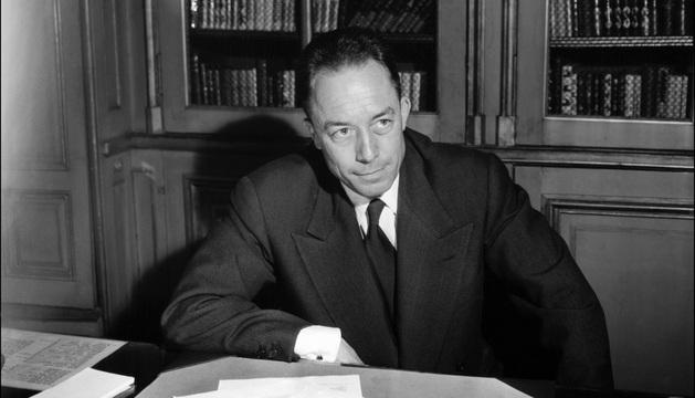 El célebre escritor Albert Camus, ganador de un Premio Nobel