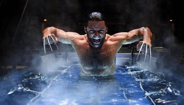 Hugh Jackman como 'Lobezno' en 'X-men. Orígenes'