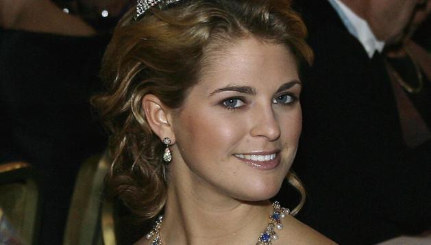 La princesa Madalena de Suecia
