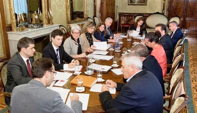 Sesión constitutiva del Consejo Navarro del Trabajo Autónomo.