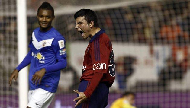 José García se lamenta de su acción fallida.