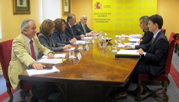 Reunión de la Comisión de Inspección de Trabajo y Seguridad Social.