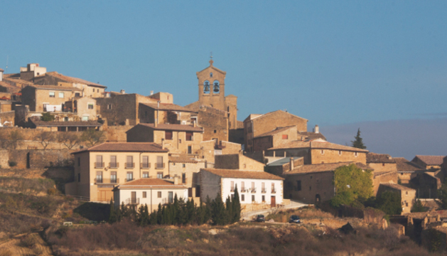 San Marín de Unx, localidad navarra con 452 habitantes