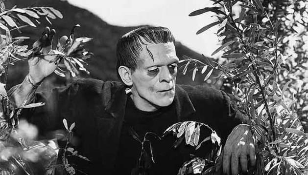 Escena de la película El Doctor Frankenstein