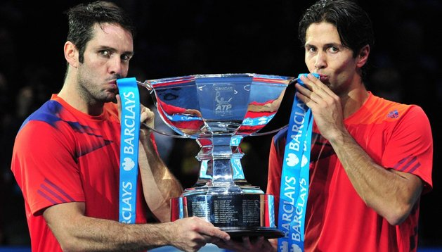 David Marrero y Fernando  Verdasco, 'maestros' del dobles