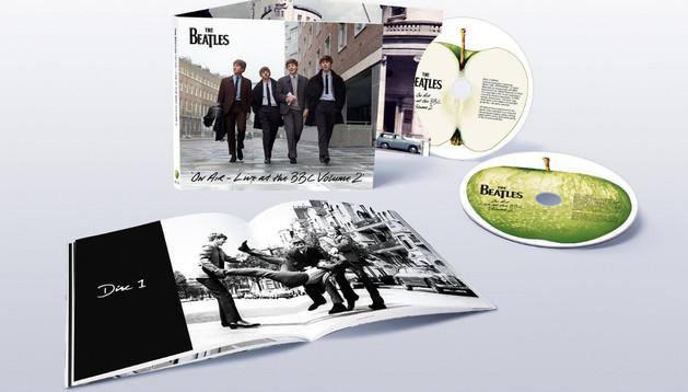 Llega al mercado lo nuevo de los Beatles, 'On Air'