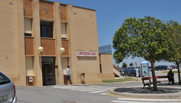 Imagen del centro de salud de Tafalla.