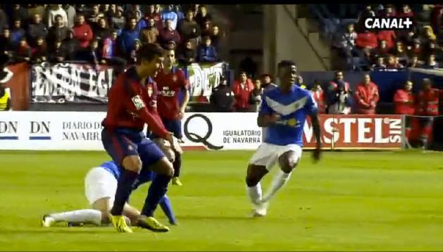 Jose García, en el vídeo sobre su debut