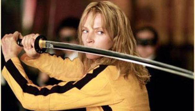 Escena de la película Kill Bill