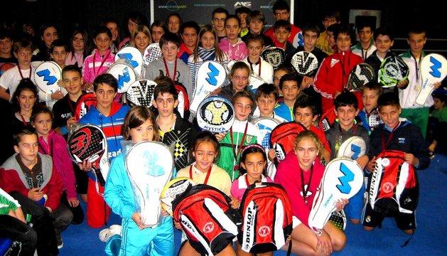 Última jornada de los juegos deportivos de Navarra de menores