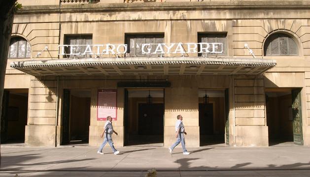 Fachada del Teatro Gayarre. ARCHIVO