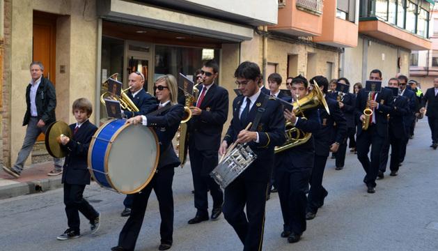 Procesión de San Gregorio en Azagra. ARCHIVO